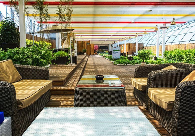 Hotel WordPress Theme - Column Background image Food Bar