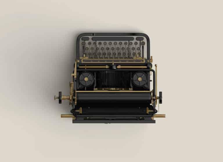 Old Typewriter - VisualMentor WordPress Theme
