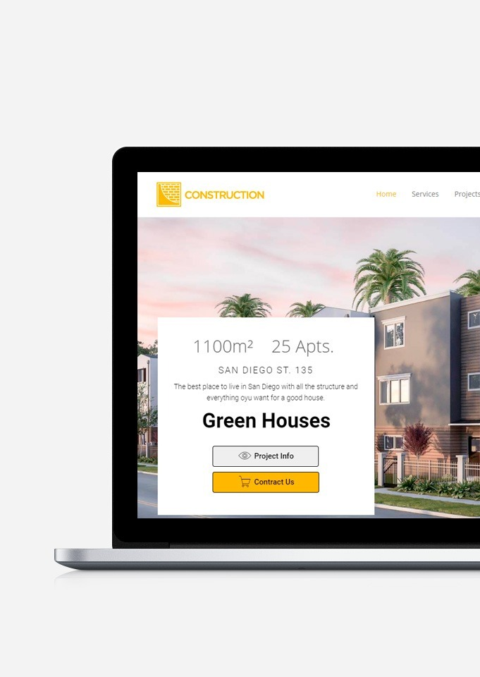 Construction WordPress theme is a business responsive theme