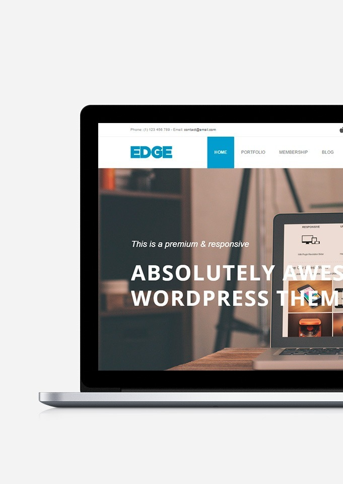 Edge WordPress theme business responsive template by Visualmodo edge-wordpress-theme-opening