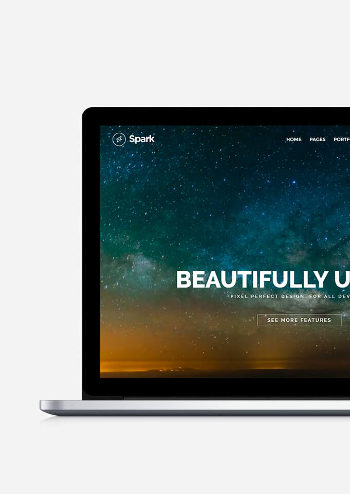 Spark WordPress Theme - Responsive Multi-Purpose Template