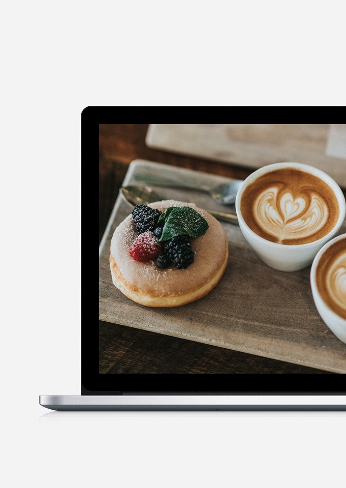 Cafe WordPress Theme - Open Banner