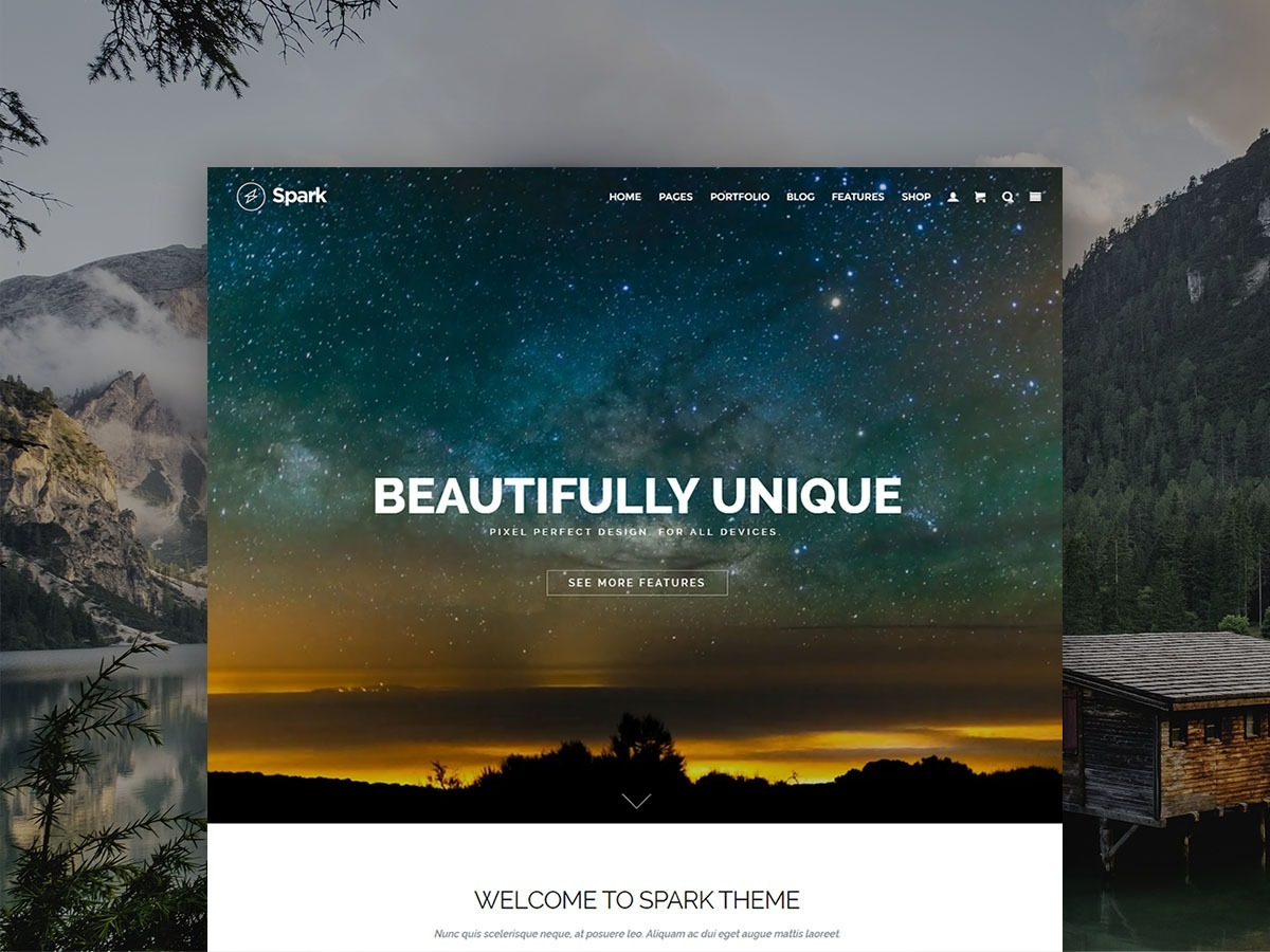 Spark WordPress Theme – Responsive Multi-Purpose Template
