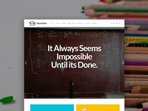 Education WordPress Theme – Learning Website Builder