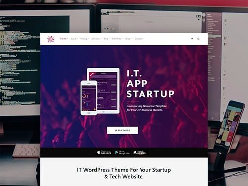 IT WordPress Theme – Tech & Startup Website Builder